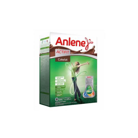 ANLENE ACTIFIT RASA COKELAT 600 G