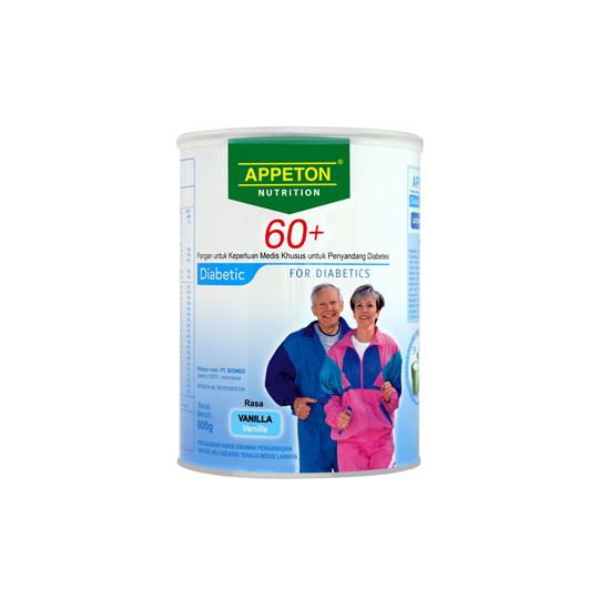 APPETON 60+ DIABETIC VANILLA 900 G