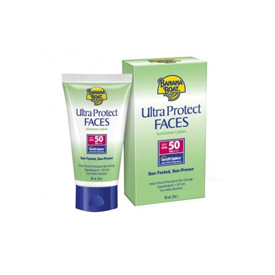 BANANA BOAT ULTRA PROTECT FACE SPF 50 LOTION 60 ML