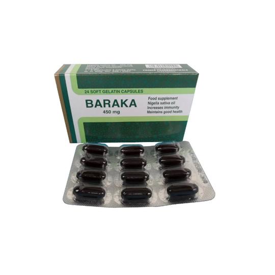 BARAKA HABATUS SAUDA 450 MG 24 KAPSUL