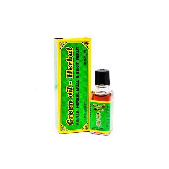 GREEN OIL HERBAL 10 ML