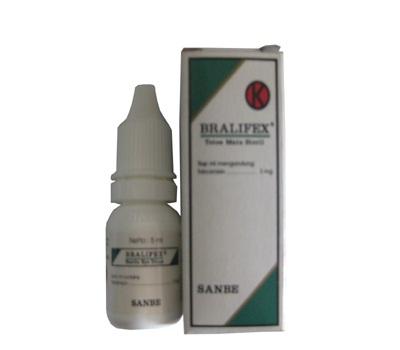 BRALIFEX EYE DROPS 5 ML