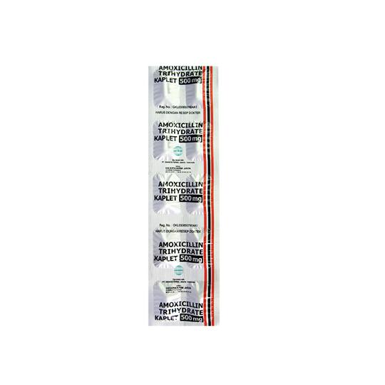 AMOXICILLIN 500 MG 10 KAPLET
