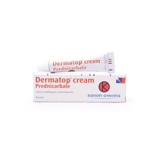 DERMATOP 2.5 MG/G CREAM 5 G