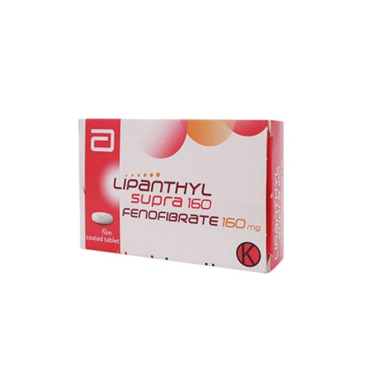 LIPANTHYL SUPRA 160 10 TABLET