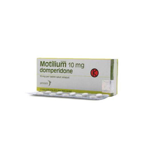 MOTILIUM 10 MG 10 TABLET