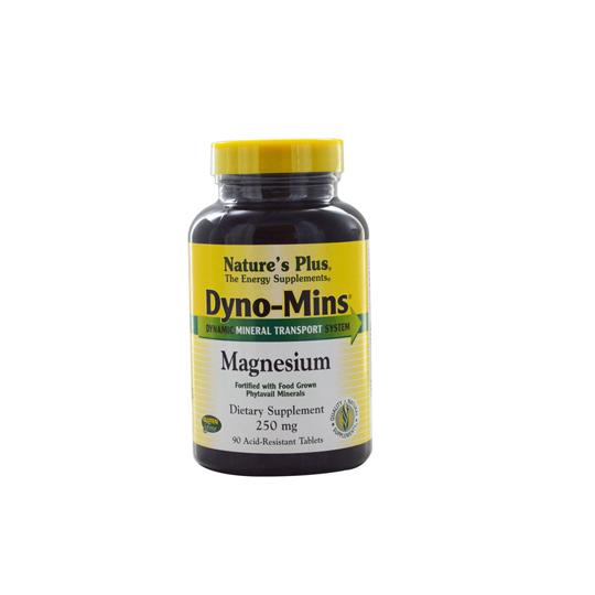 NATURE'S PLUS DYNO-MINS MAGNESIUM 250MG 90 TABLET