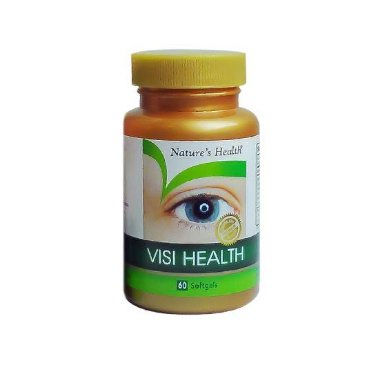 NATURE'S HEALTH VISI HEALTH 60'S