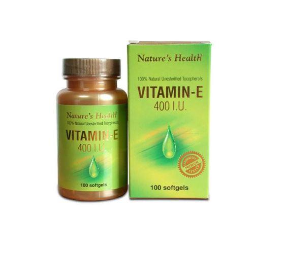 NATURE'S HEALTH VITAMIN E 400 IU 100 KAPSUL