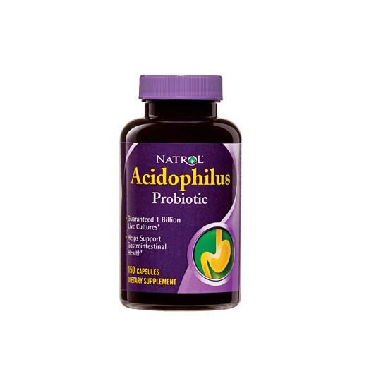NATROL ACIDOPHILUS 150 KAPSUL