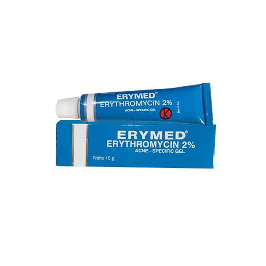 ERYMED 2% GEL 15 G
