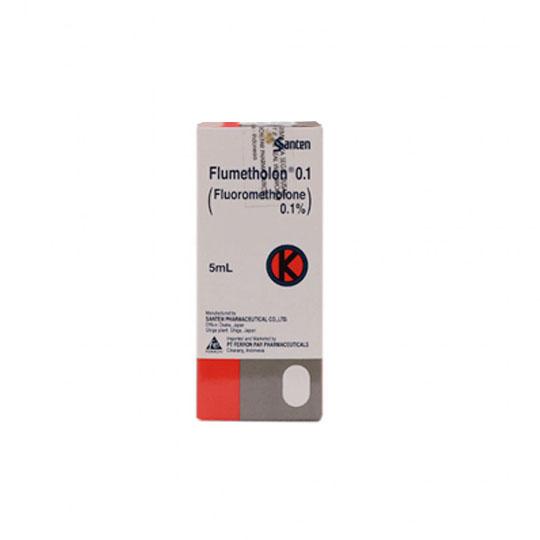 FLUMETHOLON 0.1% EYE DROPS 5 ML
