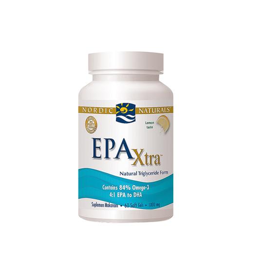 NORDIC EPA EXTRA LEMON 60 SOFTGEL