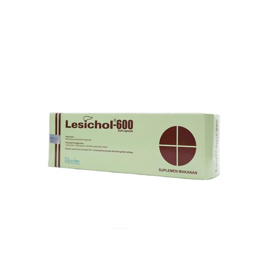 LESICHOL 600 5 KAPSUL