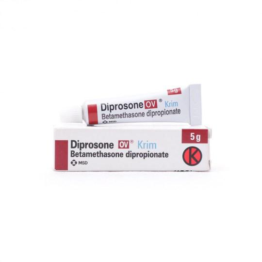 DIPROSONE-OV 0.05% CREAM 5 G