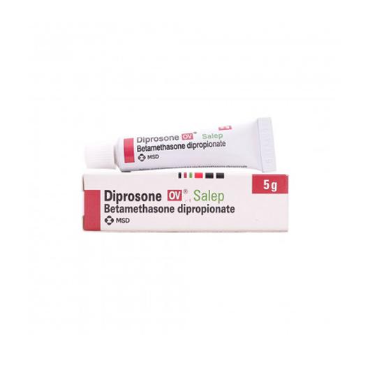 DIPROSONE-OV 0.05% SALEP 5 G