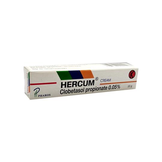 HERCUM 0.5 MG/G CREAM 10 G