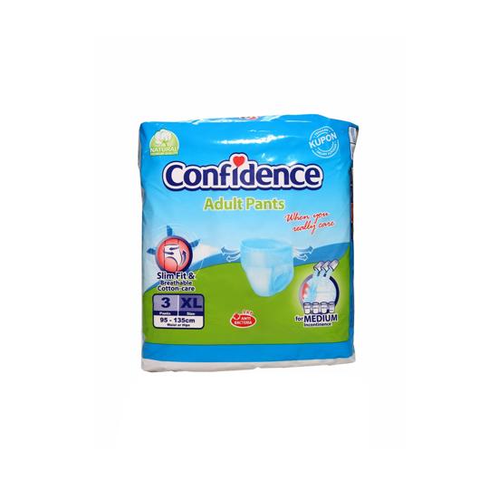 CONFIDENCE ADULT DIAPER PANTS XL 3 PIECES