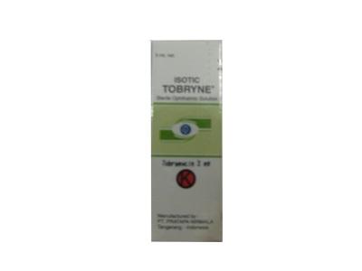 ISOTIC TOBRYNE 3 MG/ML EYE DROPS 5 ML