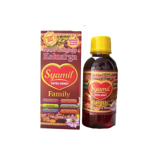 Madu Lengkap Syamil Dates Honey Family 200 ml