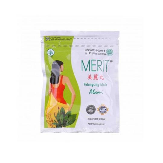 Merit Body Slimming Sachet 21 Pil