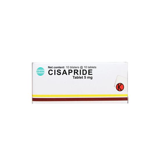 CISAPRIDE 5 MG 10 TABLET