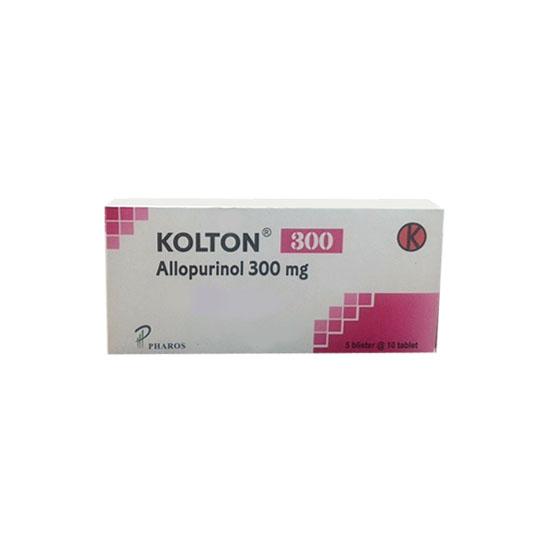 KOLTON 300 MG 10 TABLET