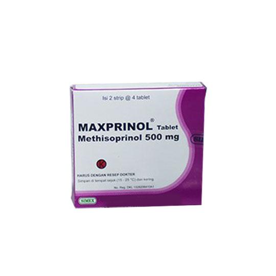 MAXPRINOL 500 MG 4 TABLET
