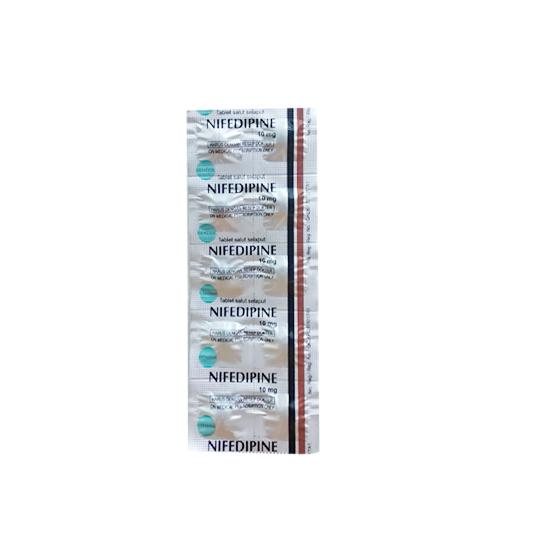 NIFEDIPINE 10 MG 10 TABLET