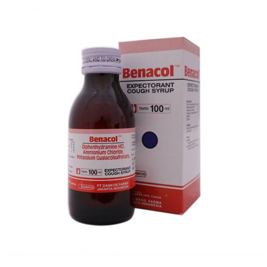 BENACOL EXPECTORANT SIRUP 100 ML