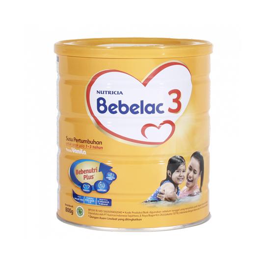 BEBELAC 3 RASA VANILA 800 GR