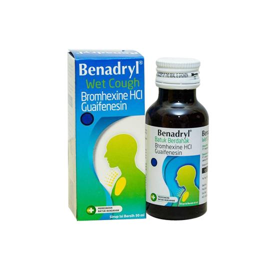 BENADRYL BATUK BERDAHAK SIRUP 50 ML