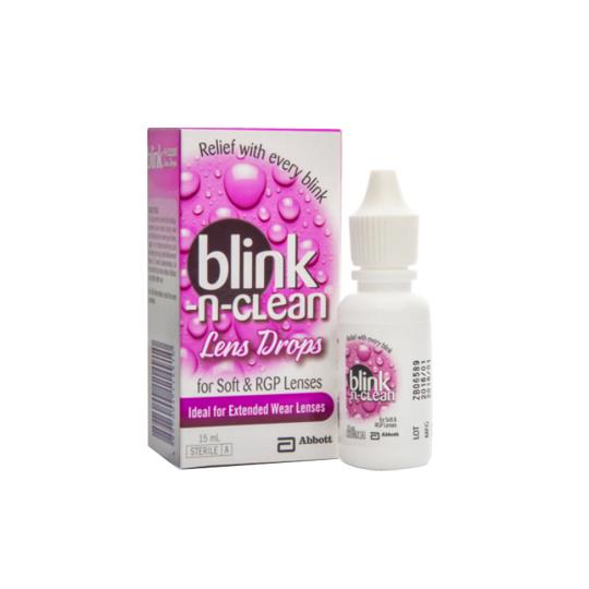 BLINK N CLEAN LENS DROPS 15 ML