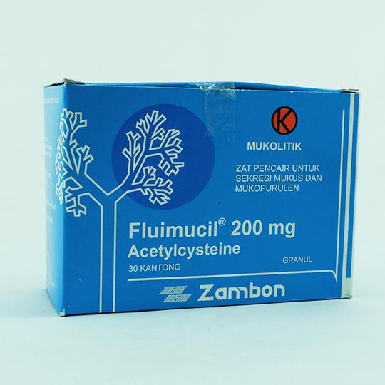 FLUIMUCIL GRANUL 200 MG