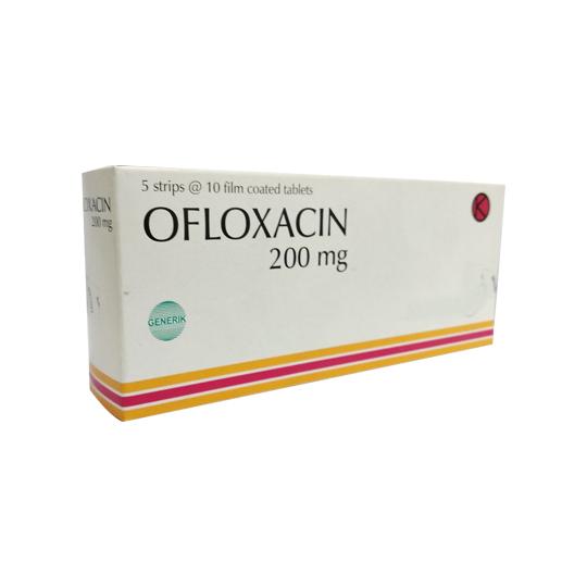 OFLOXACIN 200 MG 10 TABLET