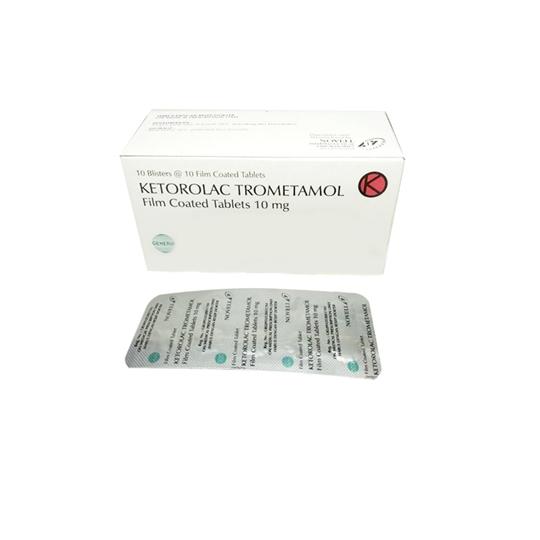 KETOROLAC 10 MG 10 TABLET