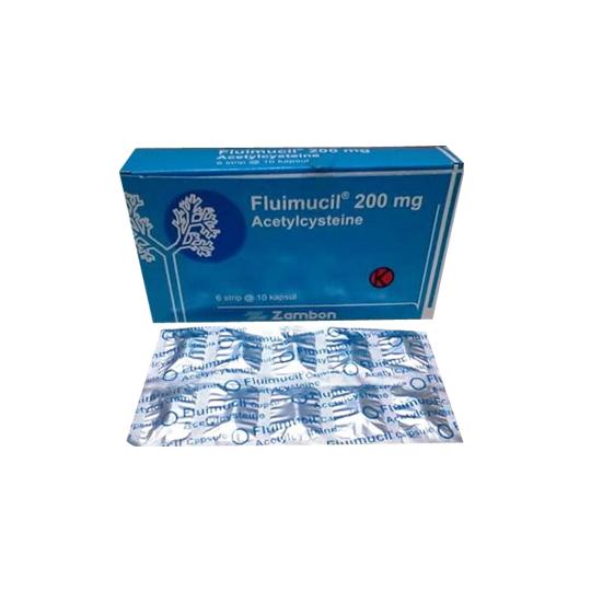 FLUIMUCIL 200 MG 10 KAPSUL
