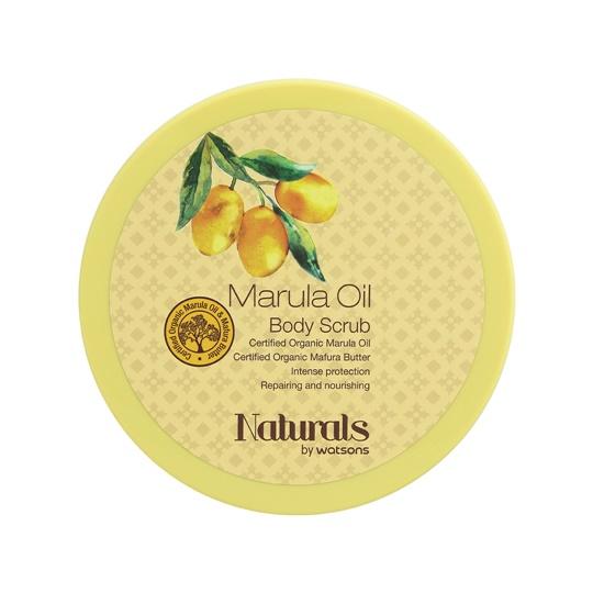 WATSONS NATURALS MARULA OIL BODY SCRUB 200 GR