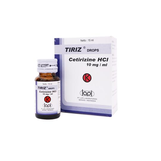 TIRIZ 10 MG/ML DROPS