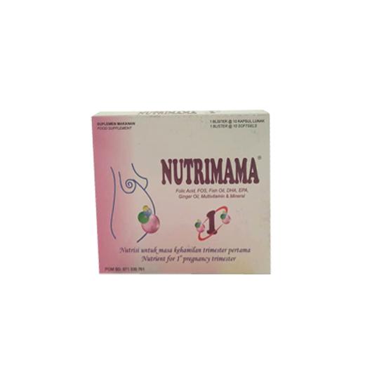 NUTRIMAMA-1 10 KAPSUL