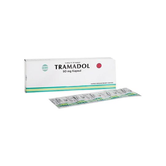 TRAMADOL 50 MG 10 TABLET