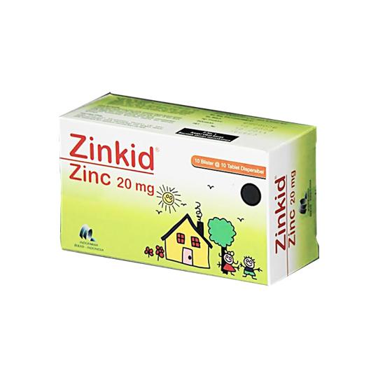 ZINKID 20 MG 10 TABLET