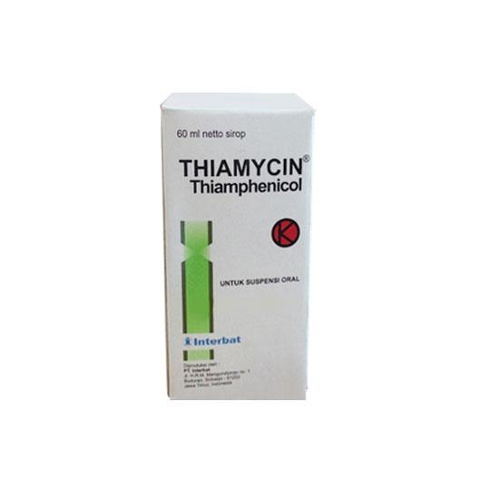 THIAMYCIN SIRUP 60 ML