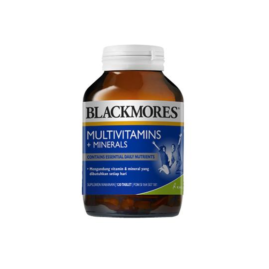 BLACKMORES MULTIVITAMINS + MINERALS 120 KAPSUL