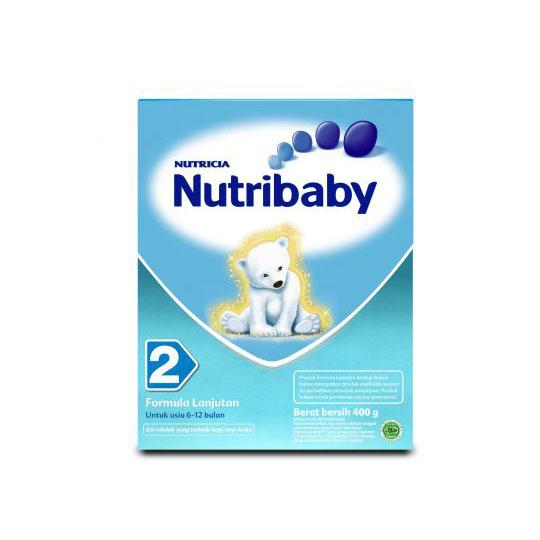 NUTRIBABY 2 6-12 BULAN 400 GR