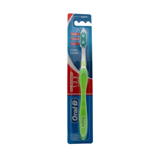 ORAL-B 123 CLEAN 40 SOFT 1 PIECE