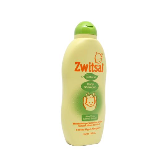 Zwitsal Baby Shampoo Natural with Aloe Vera Kemiri Seledri 100 ml