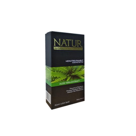 NATUR SHAMPOO HAIR NUTRIVE ALOE VERA 140 ML