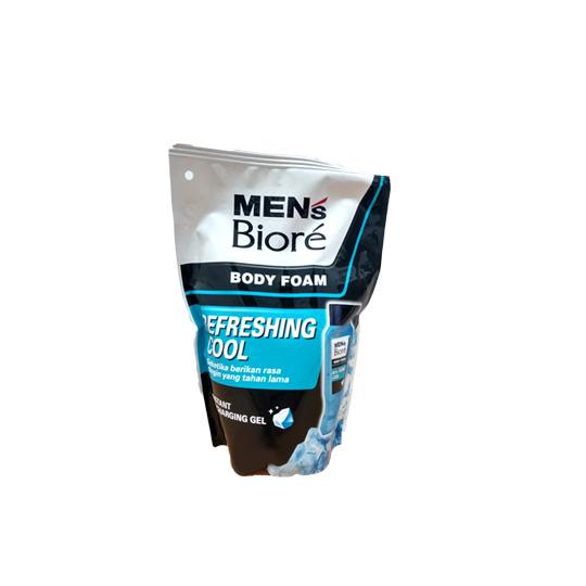 BIORE MEN'S BODY FOAM REFRESHING COOL 450 ML
