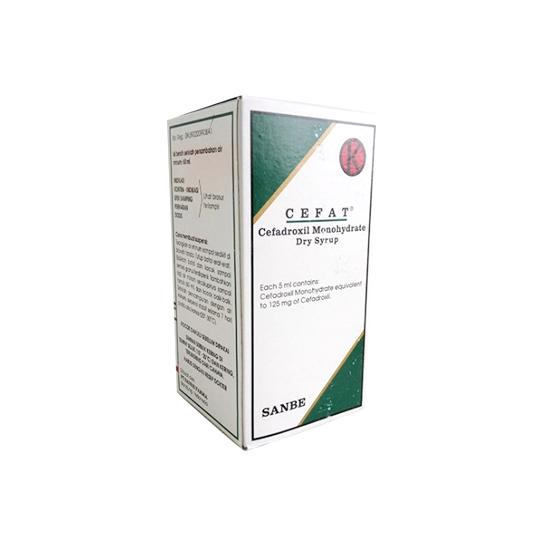 CEFAT SIRUP 125MG/5 ML 60 ML